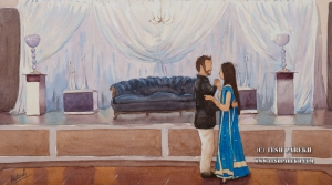 Wedding Painting at Cyprus Manor-1