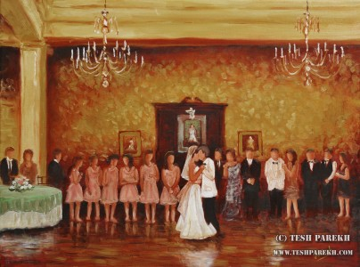 carolina-country-club-wedding-painting