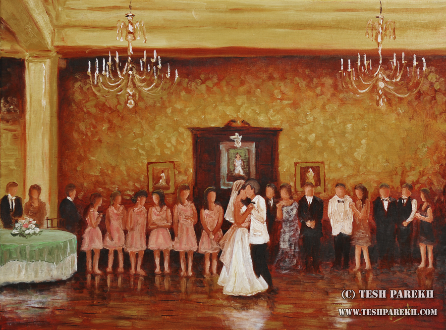 carolina-country-club-wedding-painting