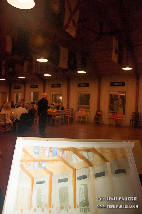 Live wedding painter asheville nc